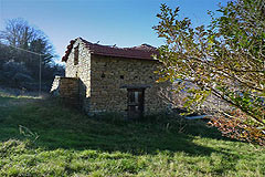 Group of Langhe Stone houses for sale in Piemonte. - Rustic building