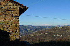 Group of Langhe Stone houses for sale in Piemonte. - Views from the properties