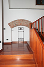 Country House with vineyard views for sale in Piemonte. - Stairs to the first floor