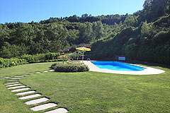 Prestigiosa  villa nelle vicinanze di Canelli - Swimming pool area