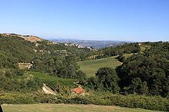 Prestigiosa  villa nelle vicinanze di Canelli - Panoramic views from the pool