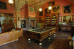 Castle for sale in the Piemonte region of Italy - Interior of the castle in Piemonte