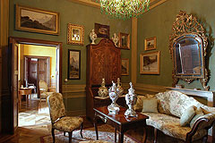 Castle for sale in the Piemonte region of Italy - Sitting room