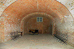 Castle for sale in the Piemonte region of Italy - Vaulted ceilings