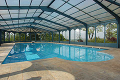 Castle for sale in the Piemonte region of Italy - Swimming pool