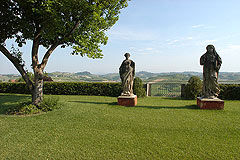 Castle for sale in the Piemonte region of Italy - Views from the property