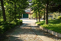 Country Home in the Langhe - Driveway to the property