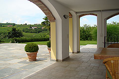 Country Home in the Langhe - Terrace area