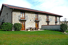 Country Estate for sale in Piemonte Italy. - The accommodations are surrounded by garden areas