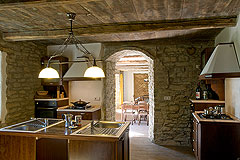 Country Estate for sale in Piemonte Italy. - Well equipped kitchens