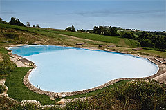 Country Estate for sale in Piemonte Italy. - Swimming area