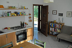 County Home for sale in the Langhe region of Piemonte - Kitchen area