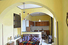 Traditional Italian Country House for sale in Piemonte. - Kitchen area