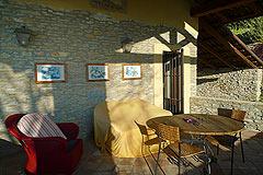 Italienischen Luxus-Bauernhaus zu verkaufen in Piemont in Italien - Terrace area