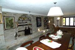 Italienischen Luxus-Bauernhaus zu verkaufen in Piemont in Italien - Dining area