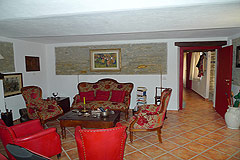 Luxury Country Home for sale in Piemonte - Rustic style floor tiles