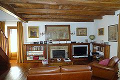 Italienischen Luxus-Bauernhaus zu verkaufen in Piemont in Italien - Living area