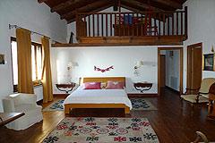 Italienischen Luxus-Bauernhaus zu verkaufen in Piemont in Italien - Master bedroom