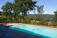 Restored Italian farmhouse for sale in Piemonte - Swimming Pool