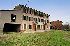 Country Estate  for sale in Piemonte. - PRICE REDUCTION -A really wonderful old historic home requiring restoration and situated close to a famous and historic town.