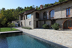 Luxury Home for sale in Piemonte. - SOLD- Prestige Italian Country home finished to the highest standards with beautiful views over the surrounding countryside and mountains.