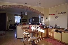 Renommierte italienische Villa zum Verkauf im Piemont - Kitchen area