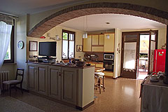 Prestigious Italian Villa for sale in Piemonte - Kitchen area