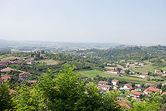 Hotel for sale in Piemonte - Panoramic views of the local area