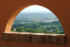 Hotel for sale in Piemonte - Panoramic views from the property