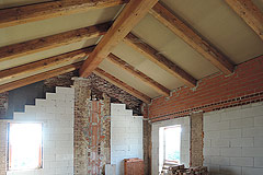 Exciting Investment opportunity in Piemonte - Exposed wooden beam ceiling