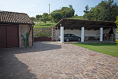Splendida cascina in vendita in Asti – Piemonte - Entrance to the property