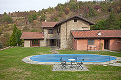 Schönes Landhaus zum Verkauf im Piemont (Piemonte) - The property is set in it's own spacious grounds