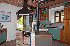 Beautiful Country Home for sale in Piemonte - Kitchen area