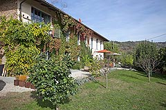 Luxury Country House in the Langhe region of Piemonte - The property has a lot of rustic charm