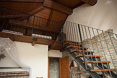 Luxury Country House in the Langhe region of Piemonte - Bedroom 3 -Mezzanine  gallery