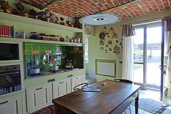 Luxury Country House with business potential in Piemonte - Kitchen area
