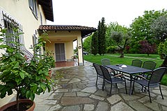 Luxury Country House with business potential in Piemonte - Terrace area