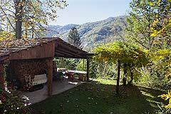 Beautiful Italian Country House for sale in Piedmont. - Outside storage area