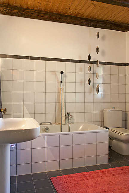 Bathroom With Exposed Wooden Ceiling Beautiful Italian Country House For Sale In Piedmont