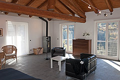 Landhaus zum Verkauf im Piemont - First Floor - Living area