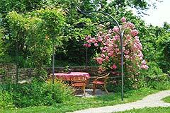 Häusergruppe zum Verkauf im Piemont - House 1 - Pergola