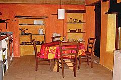 Häusergruppe zum Verkauf im Piemont - House 4 - Kitchen dining area
