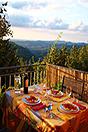 Häusergruppe zum Verkauf im Piemont - House 3 - Balcony views