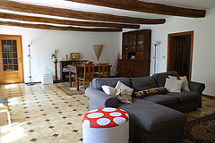 Country Estate for sale in the Asti region of Piemonte - Living room