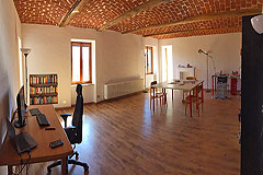 Country Estate for sale in the Asti region of Piemonte - Office area