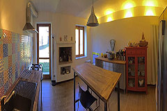 Country Estate for sale in the Asti region of Piemonte - Kitchen