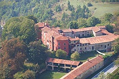 Castle for sale in the Piemonte region of Italy - View of the property and it's buildings