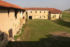 Castle for sale in the Piemonte region of Italy - The castle's buildings