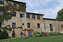 Castle for sale in the Piemonte region of Italy - View of the property