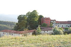 Castle for sale in the Piemonte region of Italy - View of the castle
